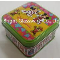 Wholesale Perfect fashion tinplate candle jar with logo design from china suppliers