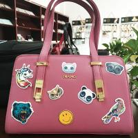 Wholesale Removable Embossed Pu Leather Luggage Bags Labels / Tags / Stickers Patches from china suppliers