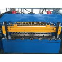 Wholesale 5T Corrugated Roll Forming Machine , Roofing Sheet Making Machine Hydraulic Power from china suppliers