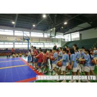 Wholesale Waterproof Futsal Court Flooring , Removable Outdoor Badminton Court Surface from china suppliers