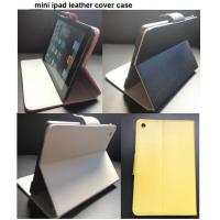 Wholesale leather ipad cases, mini ipad leather case,  ipad cover from china suppliers