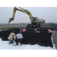 Wholesale 75mm/100mm/150mm/200mm height smooth surface HDPE Geomallas system for roadbed, retaining wall, slope protection from china suppliers
