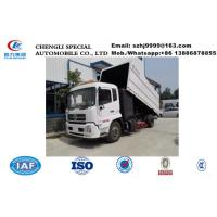 Wholesale Factpry sale dongfeng tianjin 4*2 LHD street sweeping vehicle, Factory sale best price dongfeng road cleaning vehicle from china suppliers
