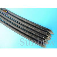 Wholesale Fire Retardant Silicone Fiberglass Sleeving Hose Sleeve Manufacturer from china suppliers