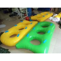 Wholesale Yellow / Green Hard Bottom Inflatable Boats SEPPA Material OEM from china suppliers