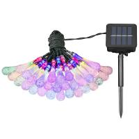 Wholesale Multi Color Solar Led String Lights / Outside Fairy Lights For Yard , Home , Parties from china suppliers