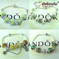 Wholesale Pandora Beaded Jewelry-Bracelets-Necklaces-Bangles-Imitation Jewelry from china suppliers