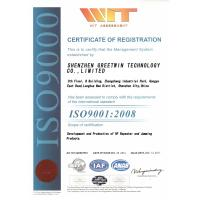 Shenzhen Greetwin Technology Co.,Limited Certifications