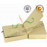 Wholesale Brown Color Custom Printed Corrugated Cardboard Gift  Boxes Rigid Foldable from china suppliers