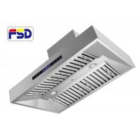 Wholesale 600cfm Outdoor Range Hood stainless steel baffle filter   singel motor from china suppliers