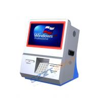 Wholesale ZT2833 Desktop Ordering / Payment / Interactive Information Kiosk with Card Reader from china suppliers