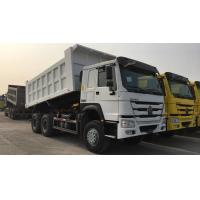 Wholesale White SINOTRUK HOWO 371 Heavy Duty Dump Truck 6 By 4 Ten Wheel Large Capacity from china suppliers