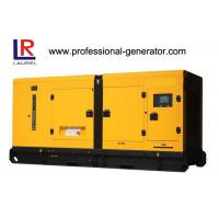 Wholesale 50Hz 250KVA AC Three phases silent diesel generator set with 4 stroke 6-cylinder Cummins Engine from china suppliers