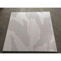 Buy cheap High Strength Perforated Aluminum Ceiling Tiles Ral & Pantone Color from wholesalers