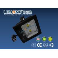 Wholesale Aluminum Black High Power PIR Led Flood Light Outdoor With Sensor from china suppliers