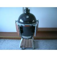 Wholesale 21'' High Temperature Big Green Egg Ceramic Grill For Meat / Fish / Chicken Outdoor bbq from china suppliers