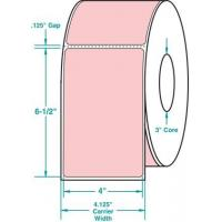"Wholesale Thermal Transfer General Use Label w/ Perf PINK 4"" x 6.5"" from china suppliers"