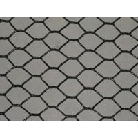 "Wholesale 1"" and 3/4"" hole size Black Coated Hexagonal Wire Netting 50 metre x 900 mm roll from china suppliers"
