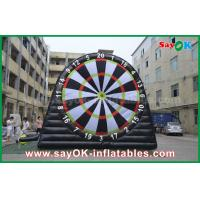 Wholesale Giant Inflatable Sports Games PVC Inflatable Velcro Soccer Dart Board Stands from china suppliers