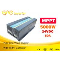 Wholesale CE FCC Certificated dc12v to ac220v 230v 5000watt power solar inverter PV inverter from china suppliers