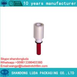 Quality Handy Stretch Film Mini Clear Stretch Wrap plastic pe stretch film for sale