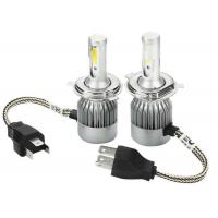 Buy cheap H4 12V 24V C6 H8 H9 H11 COB LED Headlight Bulbs 30 w 3600lm super white from wholesalers