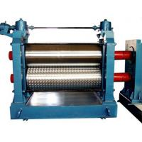 Wholesale Automatic Aluminum Embossing Machine , Metal Embossing Machine 5.5KW 12m / min from china suppliers