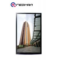 Wholesale 32'' Black Slim Frame Remote Control Wall Mount LCD Display Indoor LCD Media Player from china suppliers