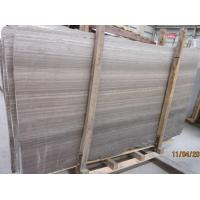 Buy cheap Wooden Grey Marble Slab for Hotel Project from wholesalers