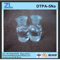 Wholesale light yellow DTPA-5Na liquid for Industry for Daily chemical from china suppliers