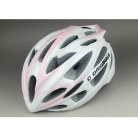 Wholesale Lady Version PC Inmould Bicycle Helmet CE Approved and Different Types of Adjustment System For Choice from china suppliers