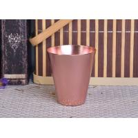 Wholesale 95ml Rose Gold Taper Cone Shaped Aluminium Candle Vessel Metal Jars For Candle Making from china suppliers