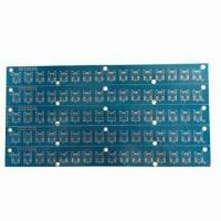 Wholesale PCB with 2 Layers, Blue Solder Mask and 2.0mm Board Thickness from china suppliers