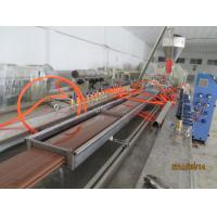 Wholesale PP PE PVC WPC Wood plastic extrusion line for skiting ceiling window door profile from china suppliers