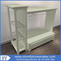Quality Kids Fashion Shop - Manufacturers Kids Cloth Store high wall showcase,island rack ,display table for sale