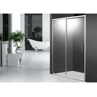 Wholesale 2 Panel 1200mm Sliding Shower Door 1900mm Height with Aluminum Alloy Frame from china suppliers
