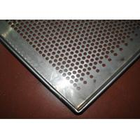 Wholesale Perforated Stainless Steel Wire Mesh Tray Dehydrated 5-10mm Frame Diameter from china suppliers