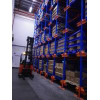 Wholesale Six Level HD Pallet Radio Shuttle Racking System, A High Compact Storage Model from china suppliers
