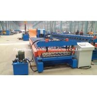 Wholesale Steel Panel Roofing sheet roll forming machine with precutting device and hydraulic cutting from china suppliers