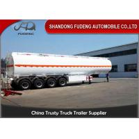 Wholesale 4 Axles Fuel Tanker Semi Trailer 60000 Liters Carbon Steel Tanker Trailer Oil Tanker Truck Trailer from china suppliers