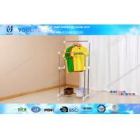 Wholesale ISO9001Hanging Clothes Rack 870 * 415 * 230mm For Clothing Drying from china suppliers
