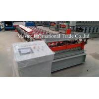 Wholesale Colored IBR Roofing Sheet Roll Forming Machine With PLC Control 10 - 15m / min from china suppliers
