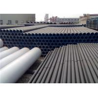 Wholesale Easy Installation Abrasion Resistant Steel Pipe , Round Steel Pipe Long Lifespan from china suppliers