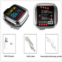 Wholesale Portable Medical Care Laser Therapy Watch Reduce Blood Pressure Battery Powered from china suppliers