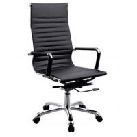 Wholesale Black PU + PVC leather Office Chair PU Padded Stainless Steel Leg DX-C615 from china suppliers