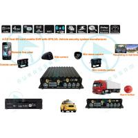 Quality Most Advanced H.264  Video Compression  ,  Mobile DVR Recorder / GPS function for sale