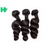 Wholesale Peruvian Loose Wave Remy Natural Human Hair Extensions Natural Black Soft & Smooth from china suppliers