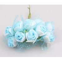 Wholesale Multicolor handmade EVA Rose Flower Head Artificial from china suppliers