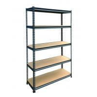 Wholesale 5 Tiers Metal Storage Shelf Steel Rack from china suppliers