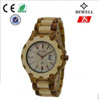 Wholesale Elegant Sandalwood And Maple Wooden Wrist Watch For Couples OEM / ODM from china suppliers